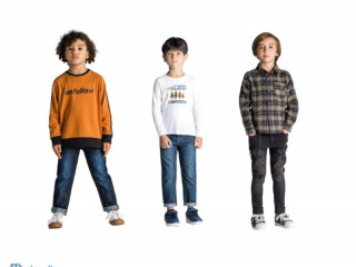 Container – European brand Mixed Clothes and Footwear for kids