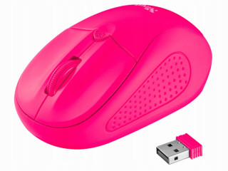 MOUSE MOUSE TRUST PRIMO WIRELESS 1600 DPI ROSE